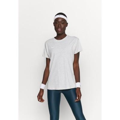 ヒュンメル Tシャツ レディース トップス GO WOMAN - Print T-shirt - egret melange