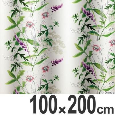 カーテン 遮光カーテン スミノエ ミッキー ワイルドフラワ− 100×200cm ( ディズニー ドレープカーテン ミッキーマウス )
