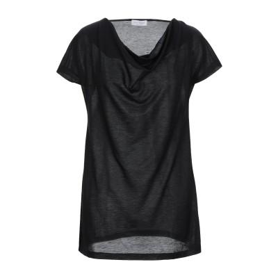 グラン サッソ GRAN SASSO T シャツ ブラック 44 レーヨン 59% / コットン 41% T シャツ