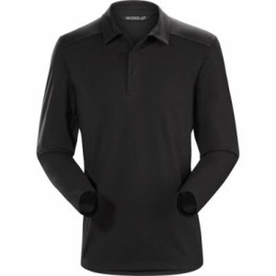 アークテリクス ポロシャツ Captive Polo Shirts Black/Black