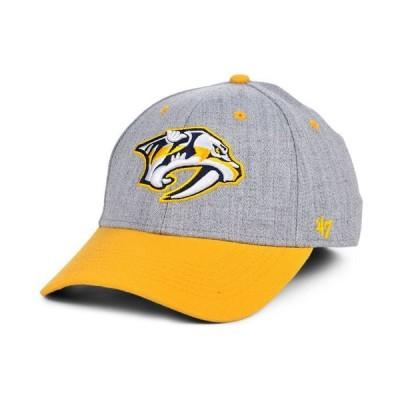 47ブランド メンズ 帽子 アクセサリー Nashville Predators Morgan Contender Stretch-fitted Cap