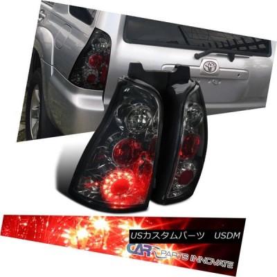 テールライト 03-05トヨタ4Runner煙LEDパーキングテールライトリアブレーキランプの交換 03-05 Toyota 4Runner Smok