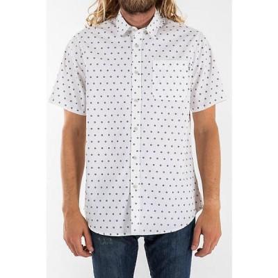 ケイティン シャツ メンズ トップス Katin Men's Mission Button Up Shirt White