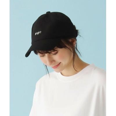 SHOO・LA・RUE / ロゴ刺しゅうリネン混キャップ WOMEN 帽子 > キャップ