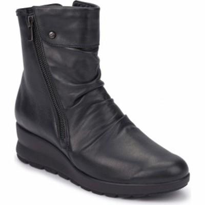 メフィスト MEPHISTO レディース ブーツ シューズ・靴 Phila Boot Black Leather