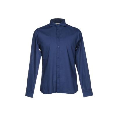パオロ ペコラ PAOLO PECORA シャツ ダークブルー 40 コットン 100% シャツ