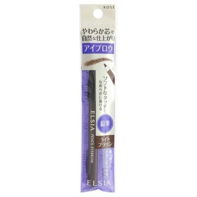 エルシア プラチナム 鉛筆 アイブロウ(本体 無香料 BR301 ライトブラウン) ペンシルアイブロウ