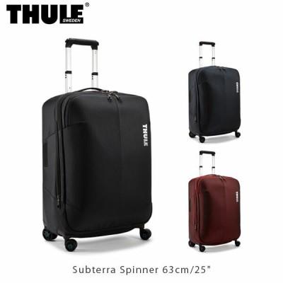 "THULE Subterra Spinner 63cm/25"" キャリーケース スーツケース 大容量 ポリカーボネート 耐水 ビジネス 旅行 スーリー TSRS325 THU0078"