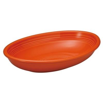 洋陶オープン 洋食器 / オービット マンダリンオレンジ27cmベーカー 寸法: 27 x 17.2 x 5.5cm