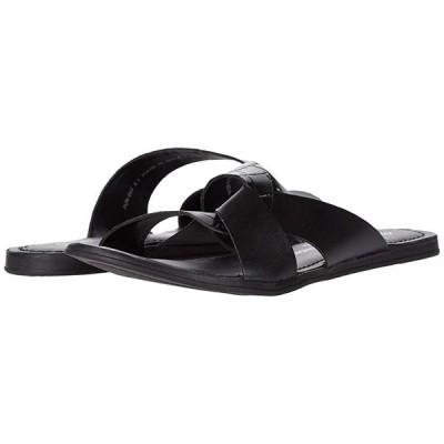 Chinese Laundry Ponder レディース サンダル Black Croco Leather