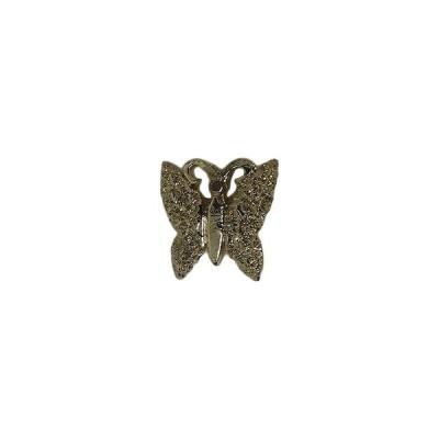 蝶 ピンズ 小型 ピンバッジ ピンバッチ 留め具付き ラペルピン
