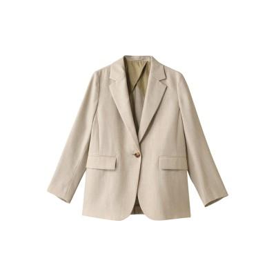 martinique マルティニーク シングルジャケット レディース ベージュ F
