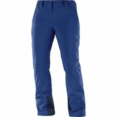 サロモン Salomon レディース スキー・スノーボード ボトムス・パンツ Icemania Pant Medieval Blue
