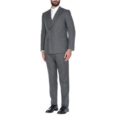 ボリオリ BOGLIOLI スーツ 鉛色 54 コットン 35% / ウール 35% / ポリエステル 30% スーツ