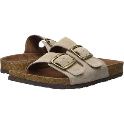 ホワイトマウンテン White Mountain レディース サンダル・ミュール シューズ・靴 Helga Light Taupe Suede