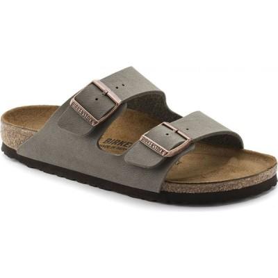 ビルケンシュトック Birkenstock レディース サンダル・ミュール シューズ・靴 Arizona Birkibuc Sandals Stone