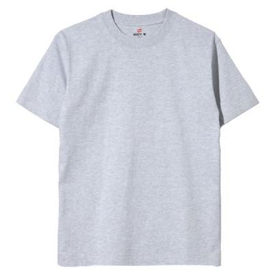 ヘインズ ビーフィーTシャツ H5180-2 ヘザーグレー(060) メンズ Hanes BEEFY T-SHIRT 2P