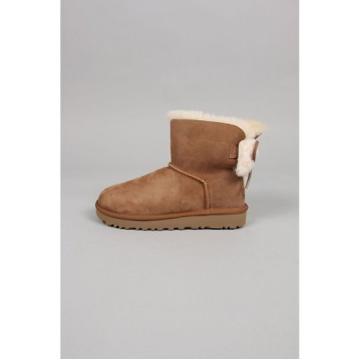 【30%OFF】CLASSIC DOUBLE BOW MINI-CHESTNUT UGG -Women-(アグ)