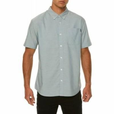 オニール その他トップス Banks Woven Short Sleeve Shirt Dust Blue