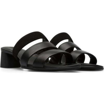 カンペール Camper レディース サンダル・ミュール シューズ・靴 katie 3-straps sandal Black