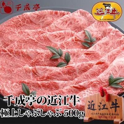 牛肉 肉 和牛 「近江牛 極上しゃぶしゃぶ 500g」 [滋賀県ご当地モール] [滋賀の幸]