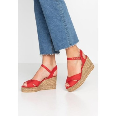 カスタニエール レディース サンダル BLAUDELL - High heeled sandals - rojo