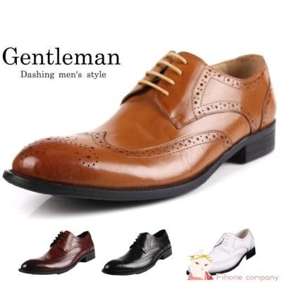 ビジネスシューズ メンズ 尖頭ビット PU革 革靴 ロングノーズ イギリス風 ブロック 透かし彫り 紳士靴 欧米風 デッキシューズ 大人気物新作品
