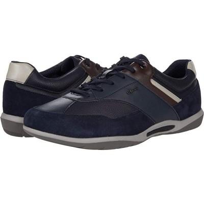 Geox Volere 1 メンズ スニーカー 靴 シューズ Navy