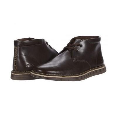 Clarks クラークス メンズ 男性用 シューズ 靴 ブーツ チャッカブーツ Forge Stride - Dark Brown Leather