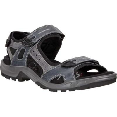 エコー スニーカー シューズ メンズ Yucatan Sandal (Men's) Marine Leather/Textile