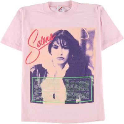 90年代 ジャージーズ Jerzees Selena セレーナ バンドTシャツ USA製 レディースM ヴィンテージ /eaa148798