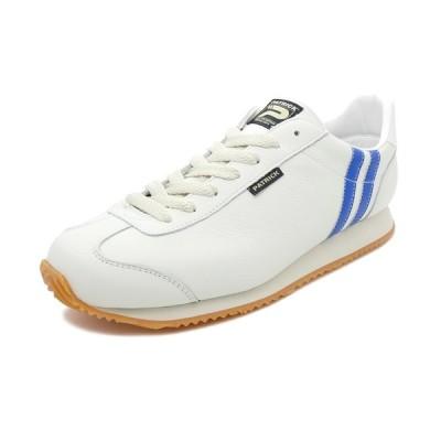 スニーカー パトリック PATRICK ネバダ2 WH/BU ホワイト/ブルー 172012 メンズ シューズ 靴