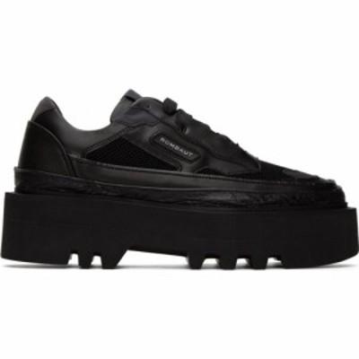 ロンバート Rombaut メンズ ブーツ レースアップブーツ シューズ・靴 Black Protect Elevator Lace-Up Boots Black