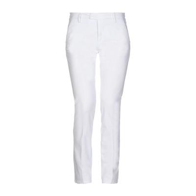 MICHAEL COAL パンツ ホワイト 28 コットン 97% / ポリウレタン 3% パンツ