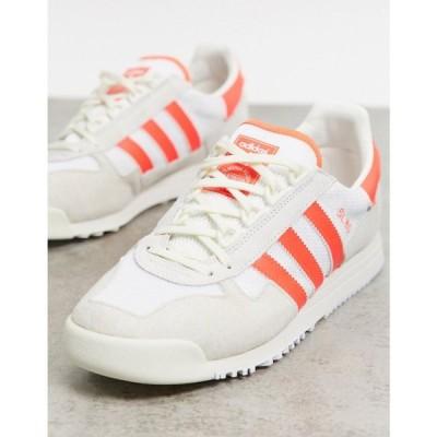アディダス adidas Originals メンズ スニーカー シューズ・靴 SL 80 trainers in white ホワイト