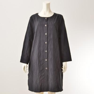 KawaiOkada ジャガード織ロングシャツジャケットカワイオカダ(KAWAI OKADA)No.676500 通販 - QVCジャパン