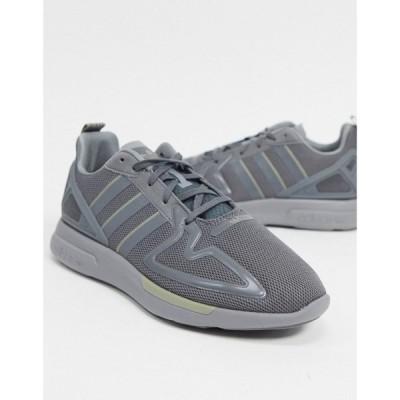 アディダス adidas Originals メンズ スニーカー シューズ・靴 Zx 2K Flux Trainers グレー