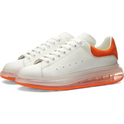 アレキサンダー マックイーン Alexander McQueen メンズ スニーカー ウェッジソール Alexander Suede Heel Tab Air Bubble Wedge Sole Sneaker