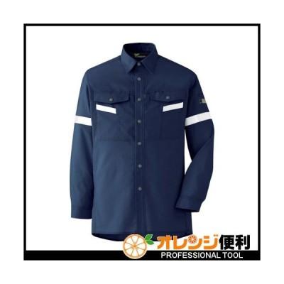 ミドリ安全 ベルデクセル帯電防止 反射材仕様 長袖シャツ VES2557上 L VES2557UE-L 【835-7098】