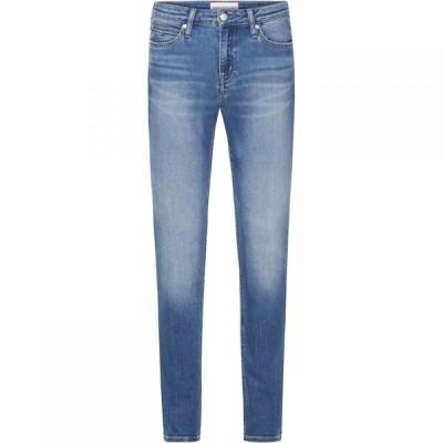 カルバンクライン Calvin Klein Jeans レディース ジーンズ・デニム スキニー ボトムス・パンツ 001 Super Skinny Jeans DA BLCH BLU