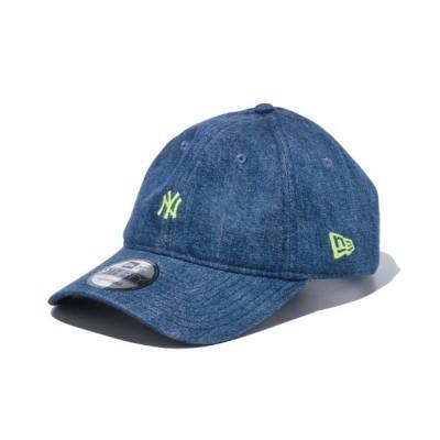 DONOBAN / 【NEW ERA】9THIRTY ニューヨーク・ヤンキース ウォッシュドデニム ミニロゴ MEN 帽子 > キャップ