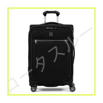 Travelpro Platinum Elite-Softside Expandable Spinner Wheel Luggage, Shadow Black, Checked-Medium 25-Inch 並行輸入品