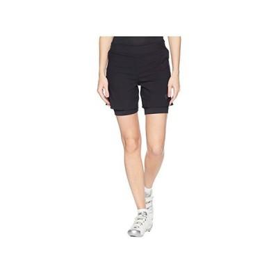 パールイズミ Journey Shorts レディース ショートパンツ ズボン 半ズボン Black