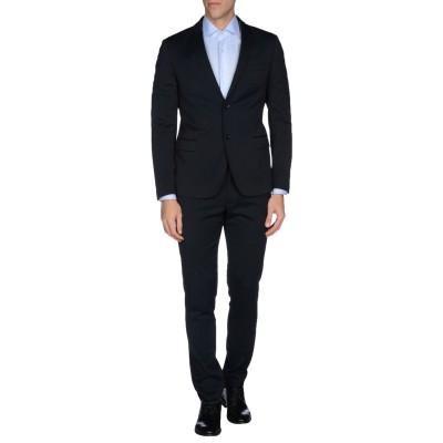 アレッサンドロデラクア ALESSANDRO DELL'ACQUA スーツ ダークブルー 48 ポリエステル 82% / レーヨン 15% / ポリ