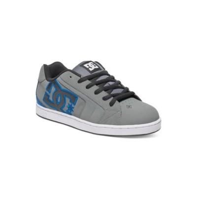 スケボー ディーシー アスレチック シューズ 靴 DC スケートボード スケボ シューズ NET グレー/ブラック/ブルー