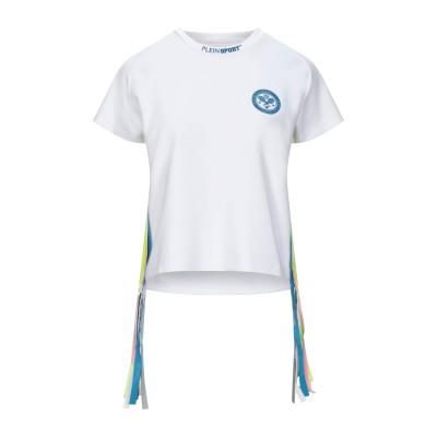 プレイン・スポーツ PLEIN SPORT T シャツ ホワイト XS レーヨン 75% / ナイロン 20% / ポリウレタン 5% T シャツ