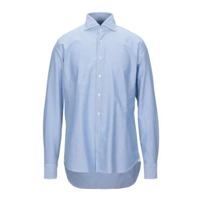 バグッタ BAGUTTA シャツ ブルー 44 コットン 100% シャツ