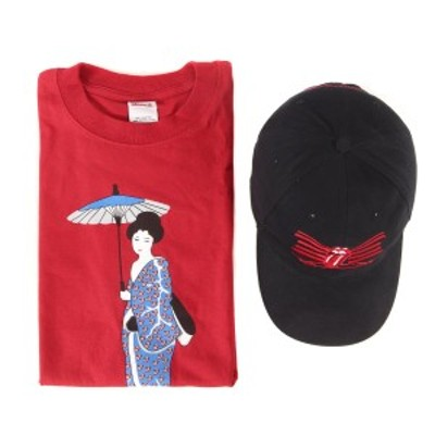 Vintage Rock Item ヴィンテージ ロックアイテム The Rolling Stones ゴールデンサークル限定 Tシャツ キャップ トートバッグ セット 00s
