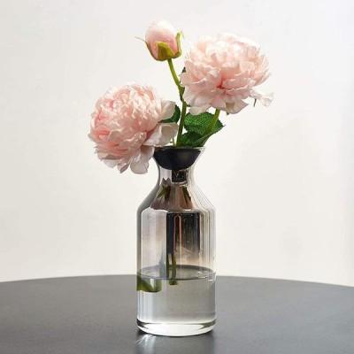 造花 花瓶付き インテリア おしゃれ 人工観葉植物 花瓶セット ガラス 枯れない花 花束 北欧 手作り お店 オフィス お祝い プレゼント ギフト 装