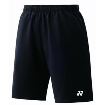 ヨネックス ジュニアハーフパンツ(ブラック・サイズ:J140) テニス ジュニアウェア YO 15048J 007 J140 【返品種別A】
